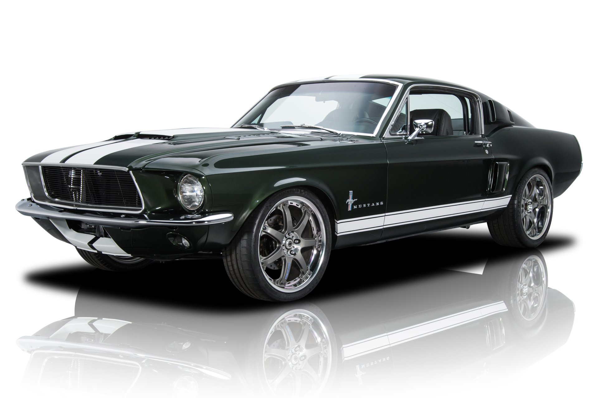 10. Fast and the Furious Tokyo Drift 1967 -- Ford Mustang